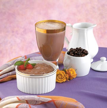 Mocha Pudding & Shake Mix