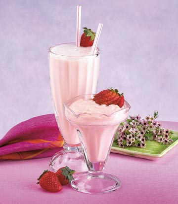 Strawberry Pudding and Shake Mix