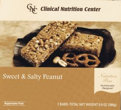 Sweet and Salty Peanut Protein Bar