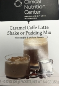 Caramel Cafe Latte Pudding and Shake Mix