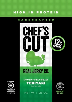 Chef's Cut Teriyaki Turkey Jerky
