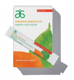 Arbonne Fizz Sticks- Citrus Flavor