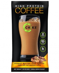 Peanut Butter Iced Coffee Drink (caffeinated)
