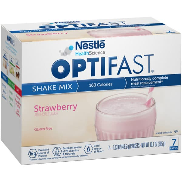 Optifast 800 Strawberry