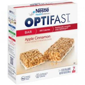 Apple Cinnamon Optifast Bar