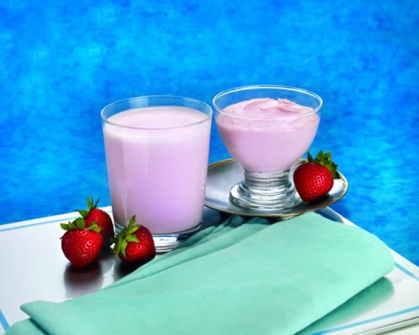 Strawberry Pudding Shake