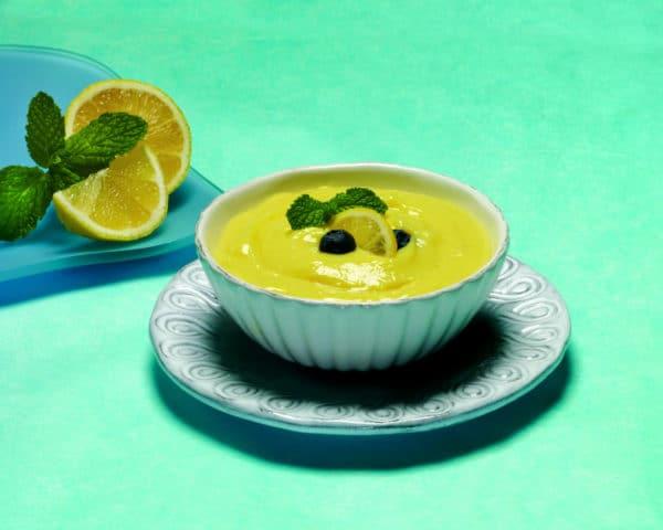 Lemon Chiffon Pudding and Shake