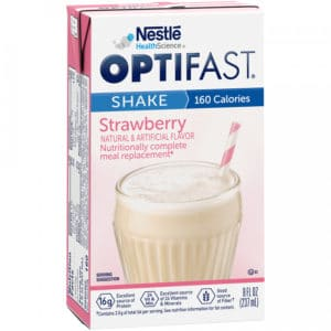 Optifast 800 Strawberry Ready to Drink Shakes