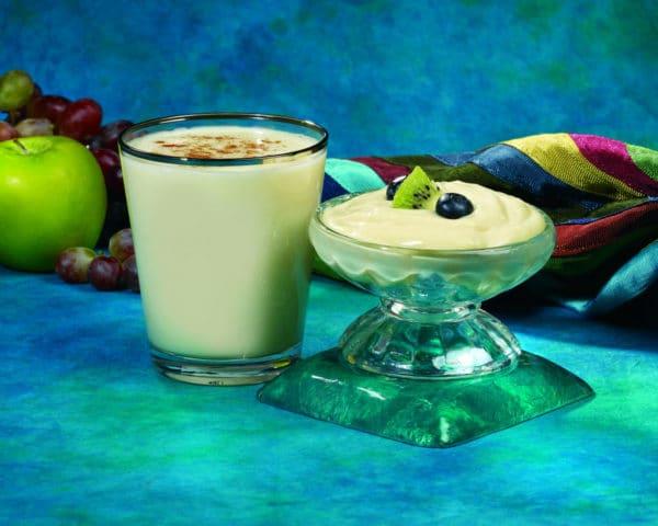 Vanilla Pudding and Shake
