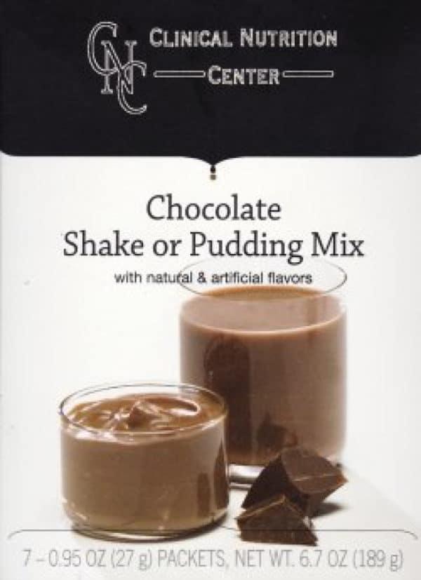 Chocolate Pudding and Shake