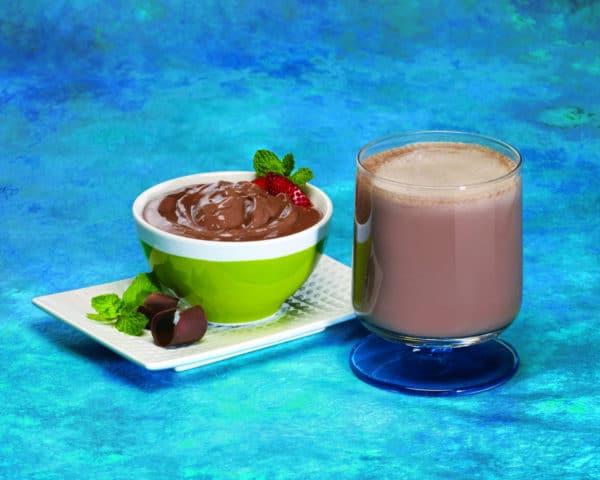 Chocolate Mint Pudding and Shake
