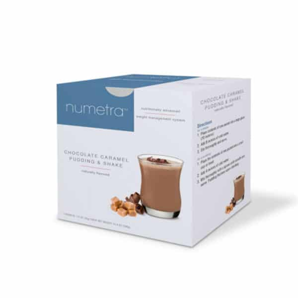 Numetra Chocolate Caramel Pudding & Shake
