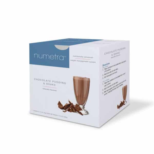 Numetra Chocolate Pudding & Shake