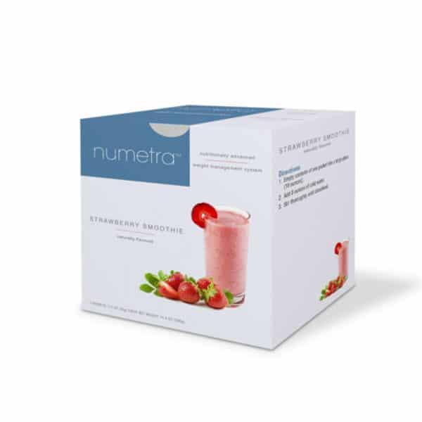 Numetra Strawberry Pudding & Shake